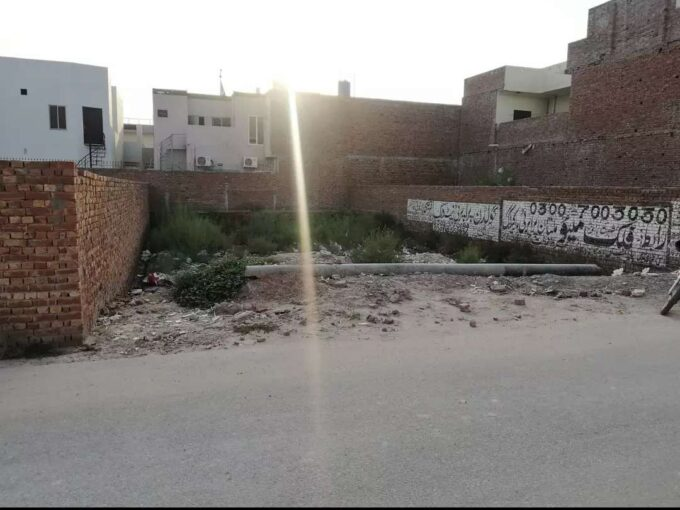 Multan public school road