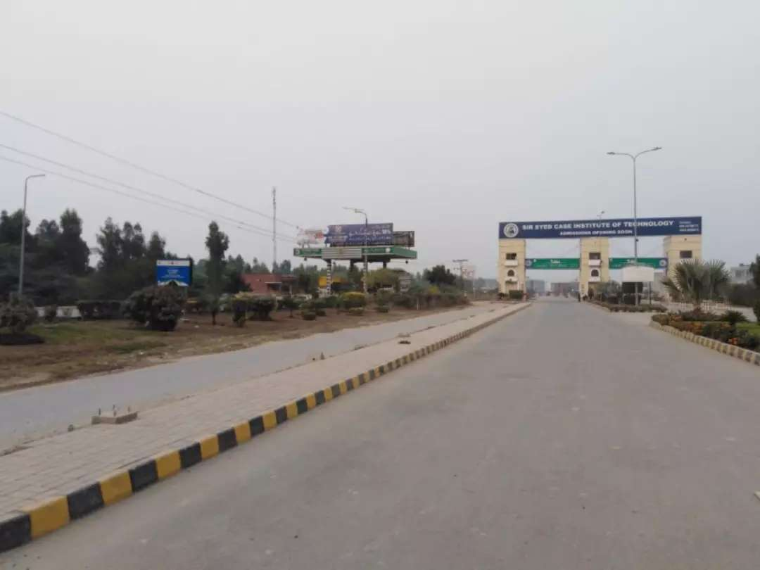 10 Marla Residential Possession Plot For Sale in Lahore Motorway City
