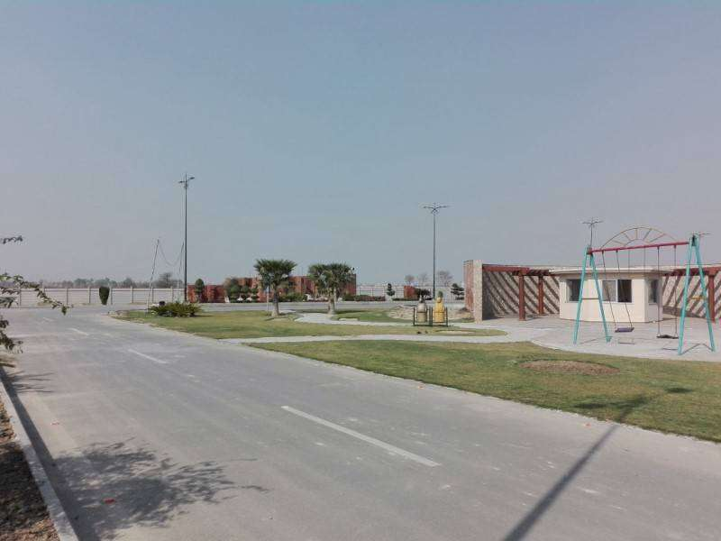 15 Marla Residential Plot For Sale Model City 2 in Satiana Road Faisalabad