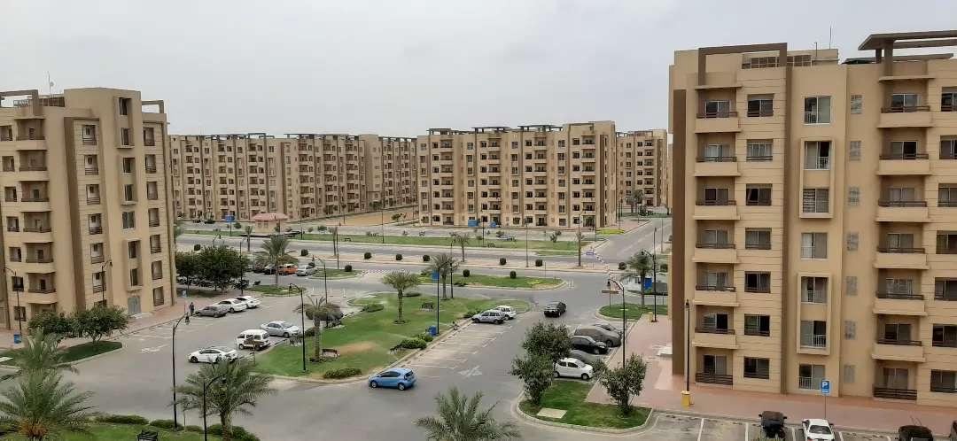 950'Ft Bahria Apartment For Sale in Bahria Town Karachi