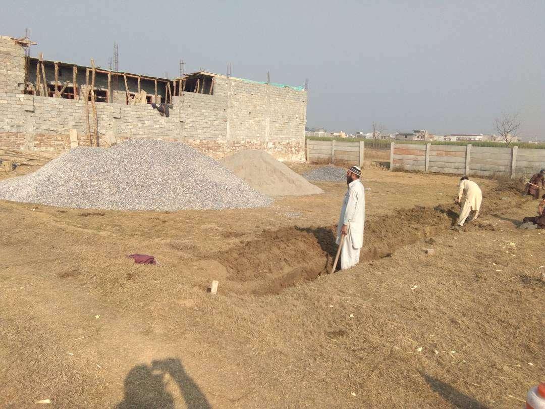 15 Marla Residential plot for sale in Abdul Wali Khan University Mardan