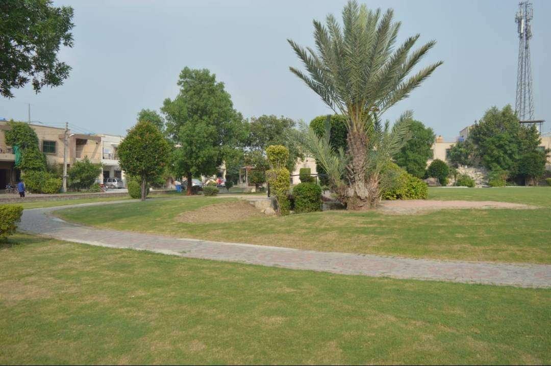 1 Kanal Residential Plot Facing Park For Sale in Khayaban-e-Amin Lahore