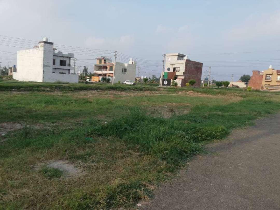 10 Marla Residential Plot For Sale in Al-Raziq Garden Lahore