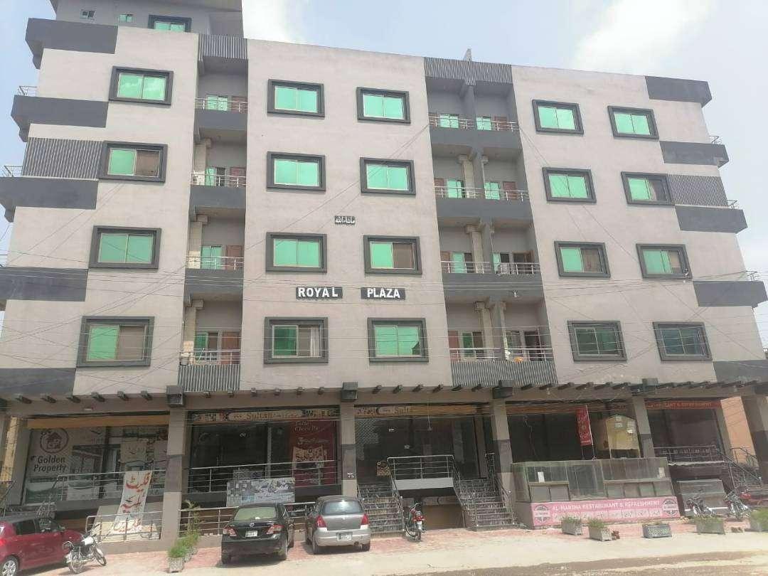 14 Marla Royal plaza For Sale in Ghauri Town Islamabad