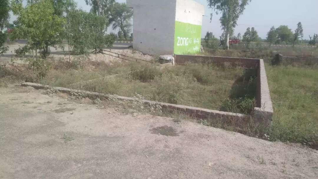 6 Marla Commercial Plot For Sale near khudyan khas jamalpur housing scheme Kasur