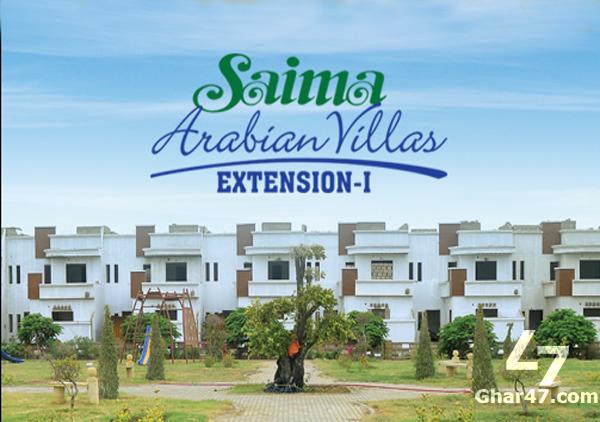 120 Sq Yards Residential Plot Block F Saima Arabian Villas Karachi