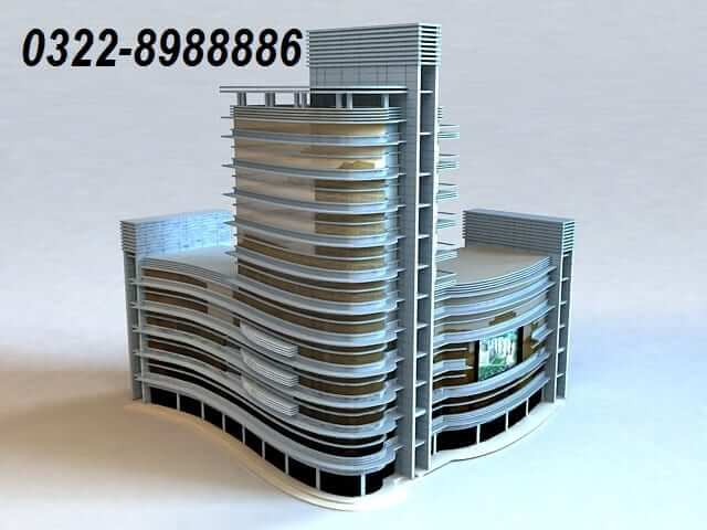 Semi Commercial Building for sale in Samanabad Lahore
