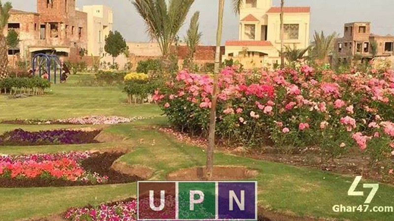 10 MARLA Plot Map Charges Paid, Jasmine Block Bahria Town Lahore