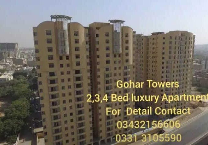 Luxury Flat for sale Gulshan-e-Iqbal