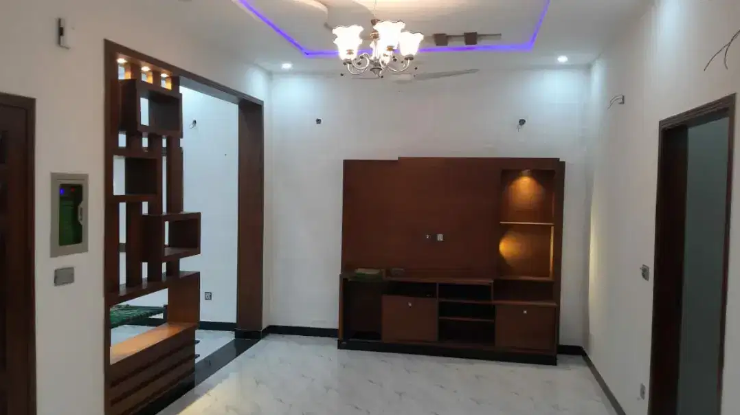 5 Marla Brand New Luxury House For Sale In Canal Gardens Lahore.