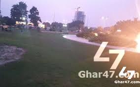 1 Kanal Residential Plot Canal Garden Lahore