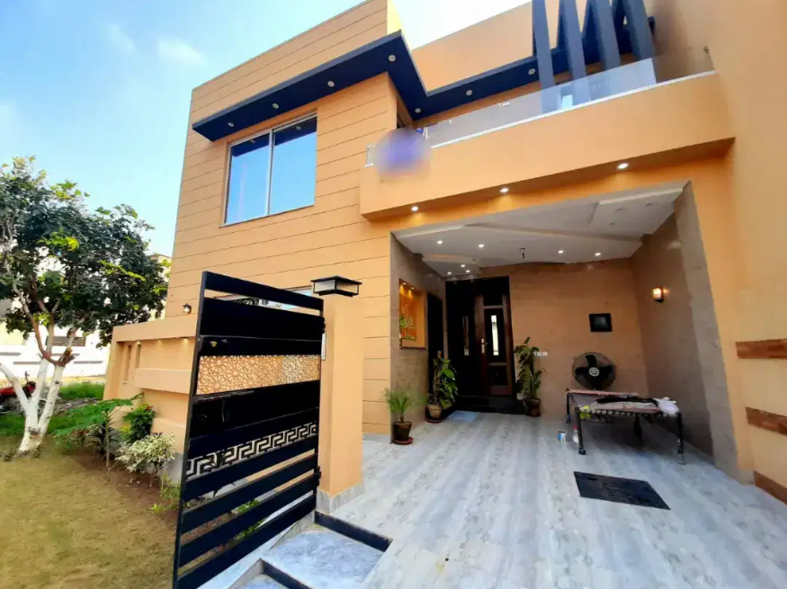 5 Marla Brand New Furnished House For Sale In State Life Housing Lahore.