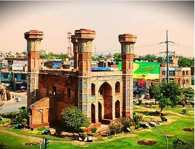 Chauburji Gate Lahore