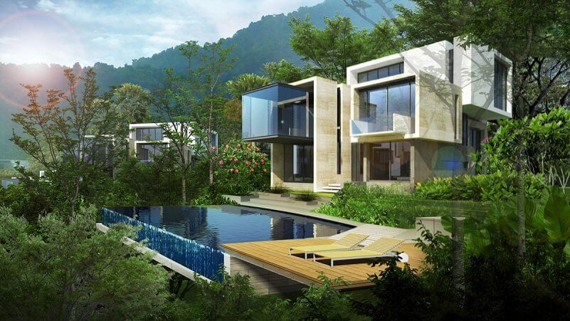 Pros and Cons of Living in Hillside Homes Mountain Slopes