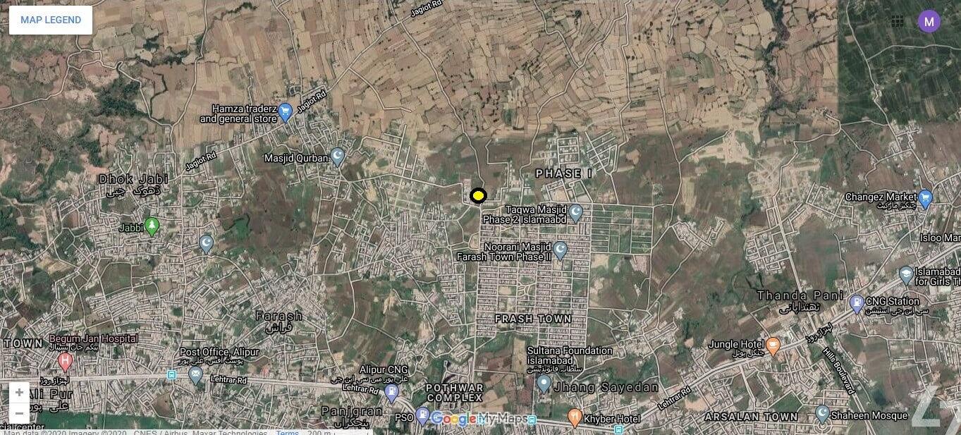 5 Marla Residential Plot for Sale in Al-Jannat Homes Islamabad