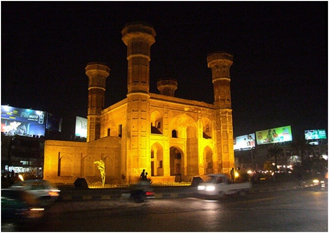 Chauburji Gate, Lahore.